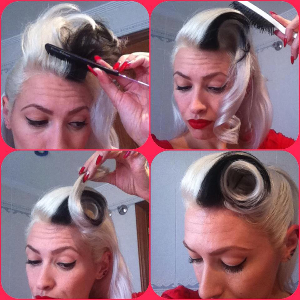 tutorial flequillo pin up