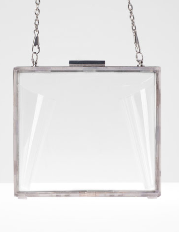 bolso transparente