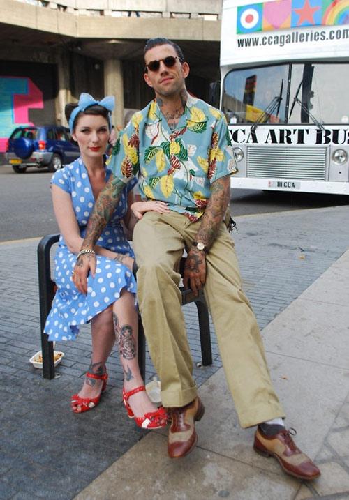 rockabilly-pareja