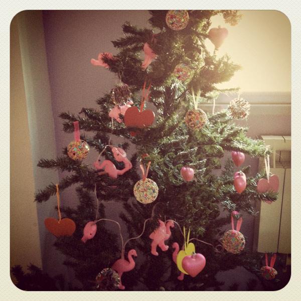 flamenco-rosa-navidad