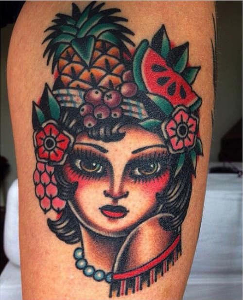 Kim-Anh-Nguyen-carmen-miranda-tattoo