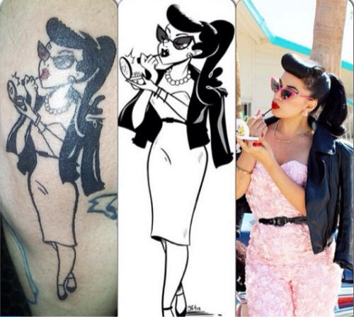 genevieve-tattoo-pin-up