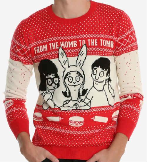bobs-burguer-xmas-sweater